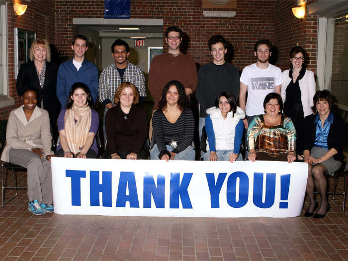 Last fall's College of Staten Island Phonathon raised over $20,000 for the College's Annual Fund.