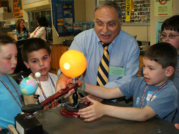 Over 90 children of faculty and staff members at CSI were treated to a day of campus events .