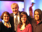 Three CSI students had the chance to participate in a studio audience of French cable station.