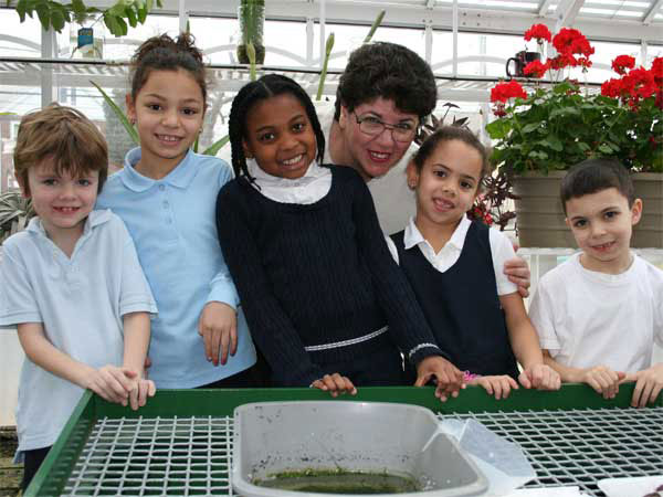 PS 35 Greenhouse Project Blooms Thanks to Funding from Con Ed and CSI.