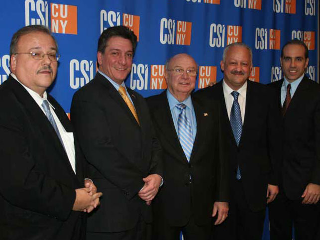 College of Staten Island President Morales hosted the annual CSI Legislative Luncheon on campus.
