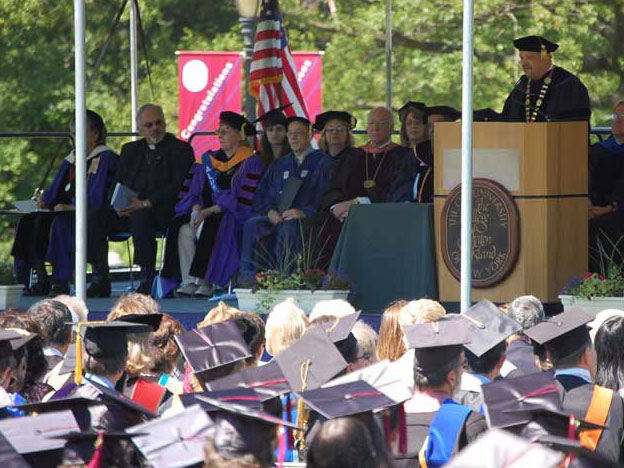 Presidential Investiture and Afternoon Awards Ceremony Complement Commencement Day at CSI.