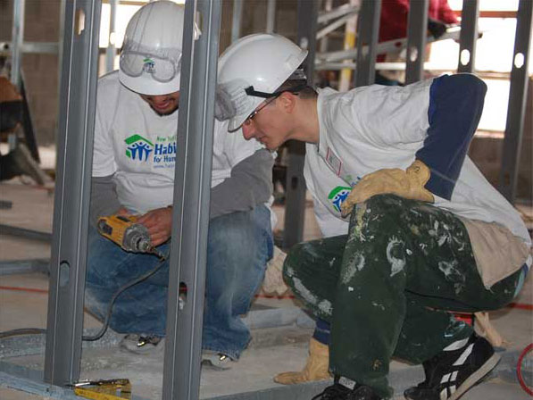 CSI Students Help Habitat for Humanity, Honor Dr. Martin Luther King, Jr.