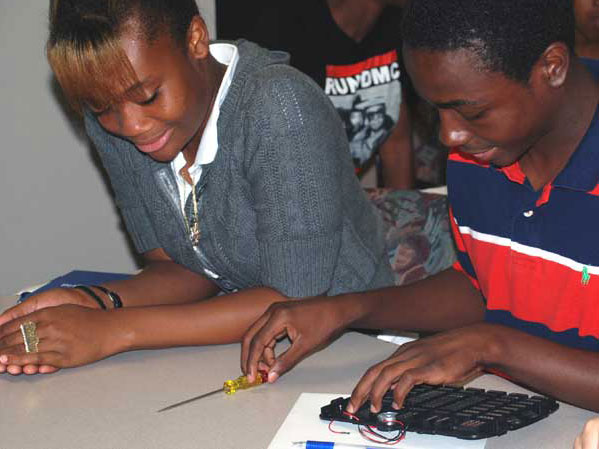 H.S. Students learn critical thinking thanks to National Grid.