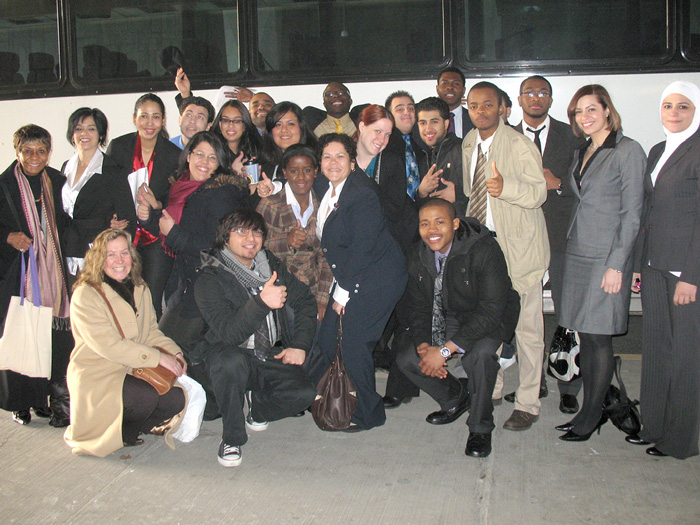 CSI students recently learned about politics first-hand at the 2010 Legislative Conference Weekend.