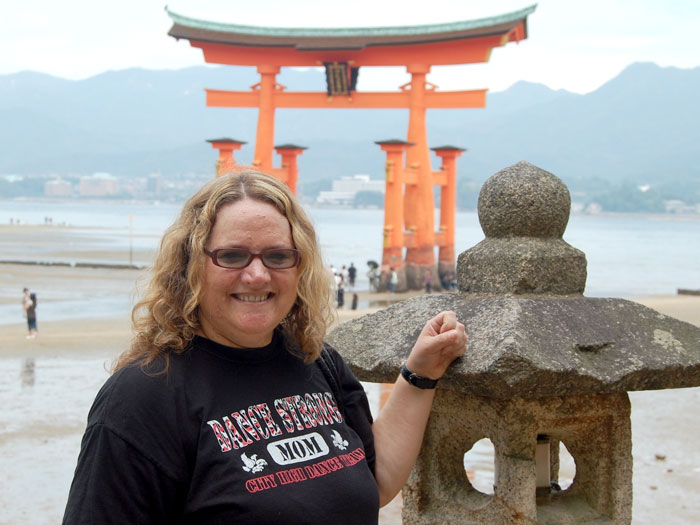 Barbara Clark learned about Japanese education and culture as part of Fulbright's IEA Program.