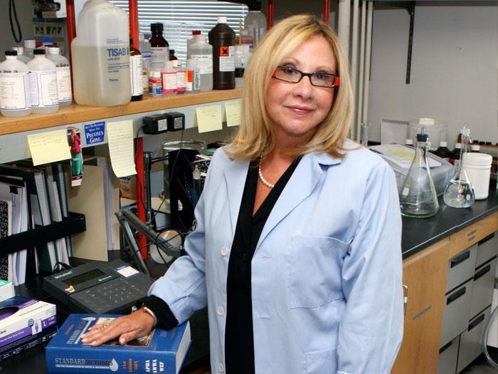 Donna Gerstle, Director of CSI's Staten Island Breast Cancer Research Initiative.