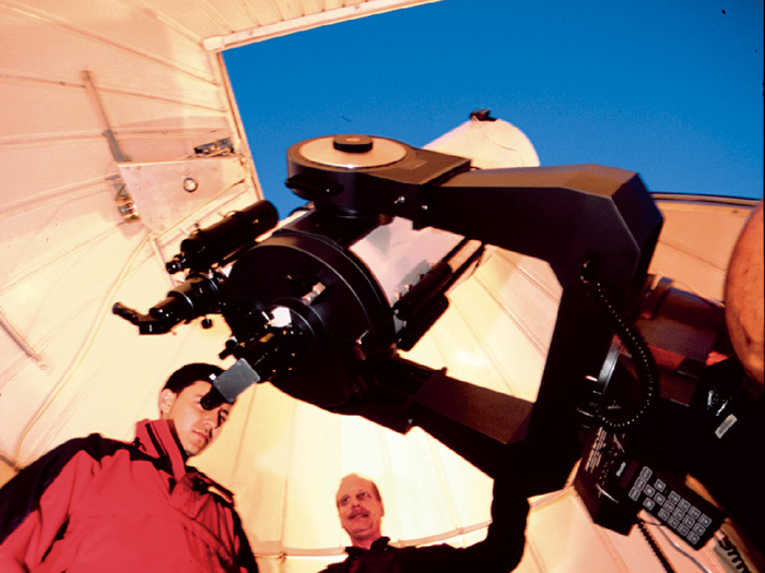 Students, faculty, staff, and the public can explore the skies at the CSI Astrophysical Observatory.