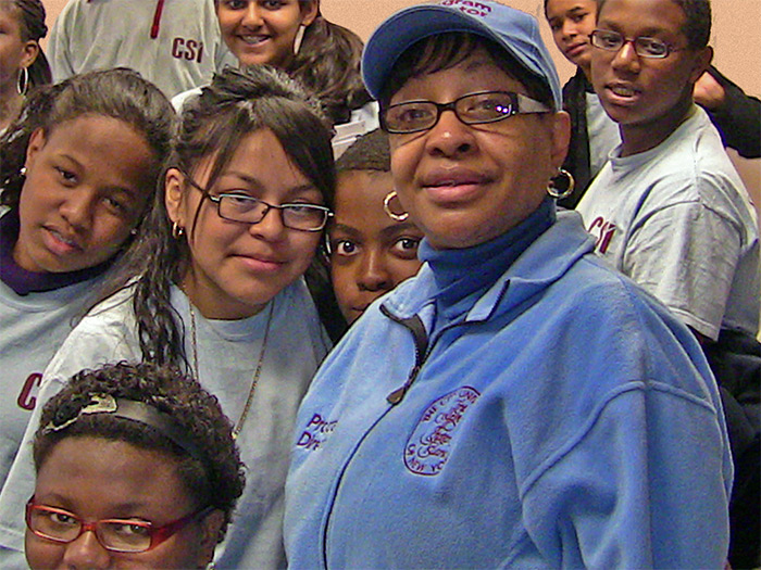 Debra Evans-Greene directs a number of student retention programs at the College of Staten Island.