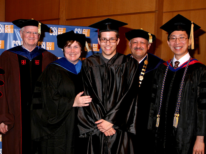 The College of Staten Island honored its top scholars at the Third Annual Honors Convocation.