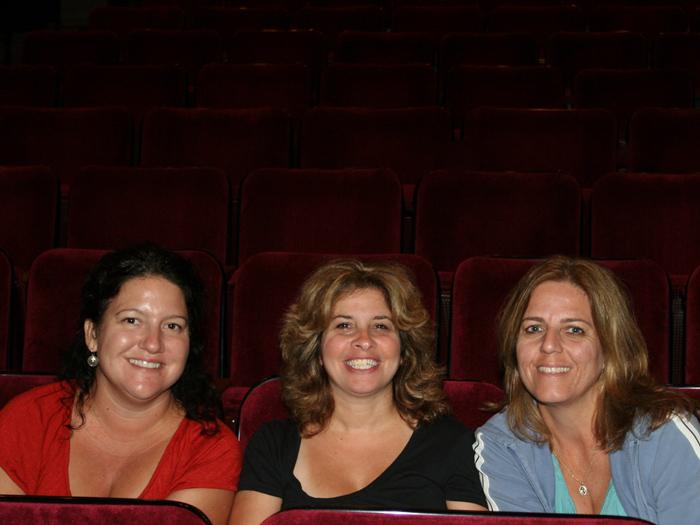 L-R: Alison Malone, '08; Constance DeLissio, '08; Lisa Dickey