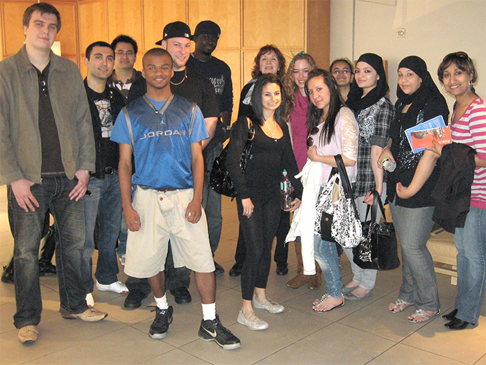 Members of the CSI International Business Society took a tour of the Asia Society last semester.