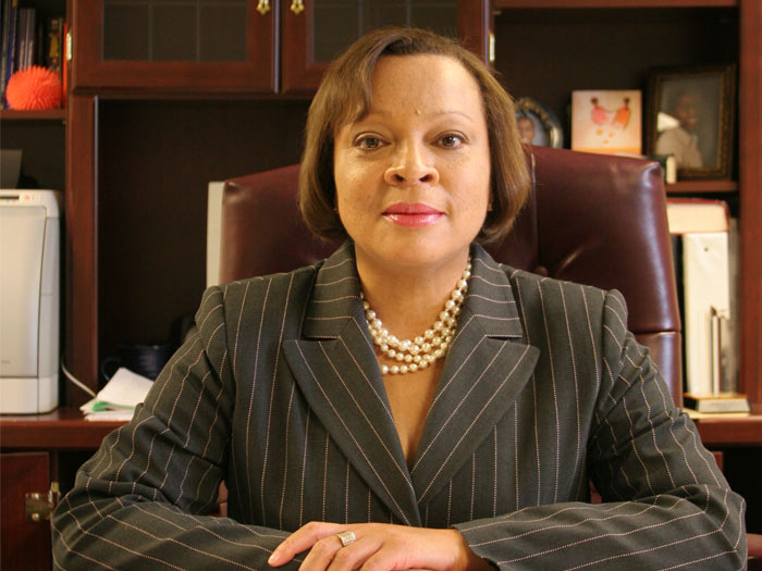 Dr. Jerald Jones-Woolfolk, the new Vice President for Student Affairs at the College of Staten Island