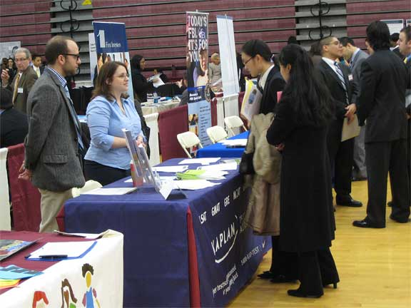 CSI seniors, juniors, grad students, and alumni can connect with employers at the 2009 Job Fair.