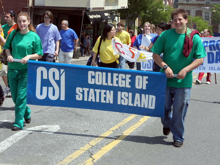 CSI students, faculty, and staff participated in the Fifth Annual LGBT Pride Parade in St. George.