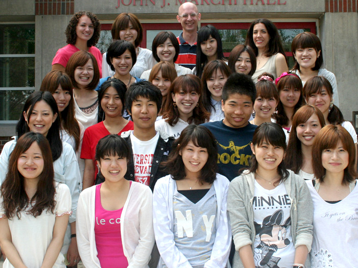 Twenty-four students from Meiji University in Japan are visiting the CSI campus this month.