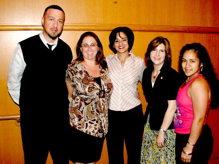 [Left to Right] Christopher Cruz Cullari, Debi Kee, Marybeth Melendez, Denise Bloise, Kelyn Potes