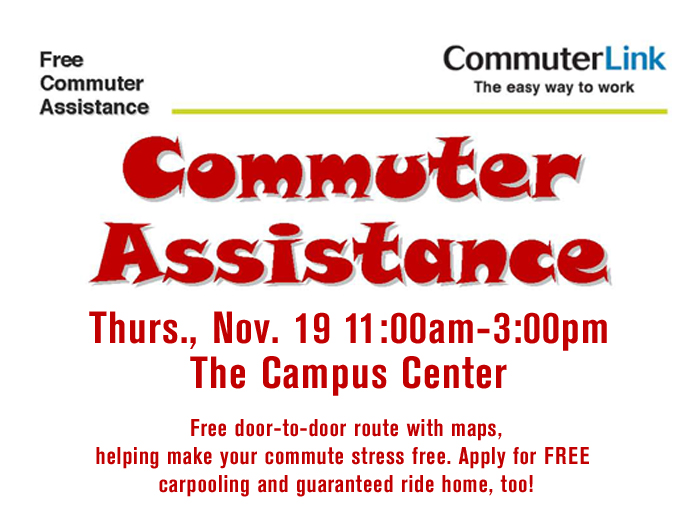 The College of Staten Island will encourage carpooling on Transportation Day on November 19.