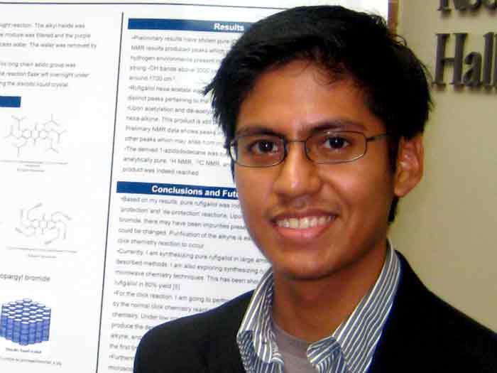 Eric Rios-Doria has been accepted into a prestigious summer program at the University of Iowa.