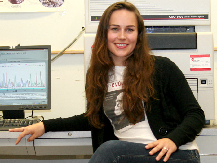 CSI/CUNY graduate student Sara Ruane has received a prestigious Graduate Women in Science fellowship