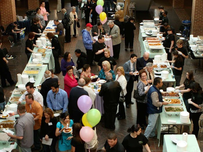 Over 250 people sampled some of the best food that the Island has to offer at Savor the Flavors.