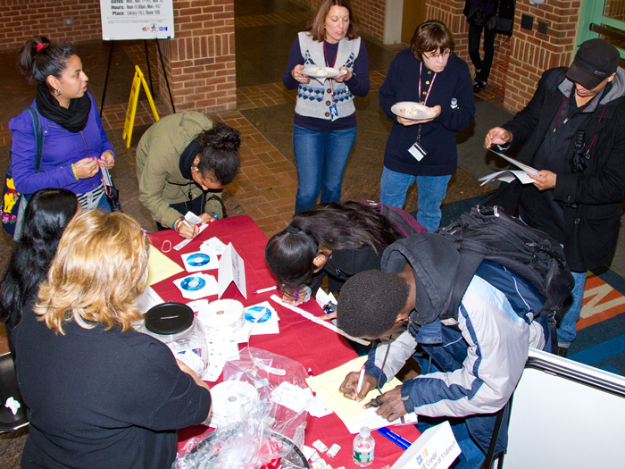 CSI students, faculty, and staff learned about the latest gadgets and software in the CFA last week.
