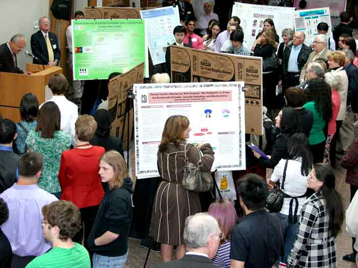 Scholarly and creative projects by students in all disciplines showcased academic excellence.