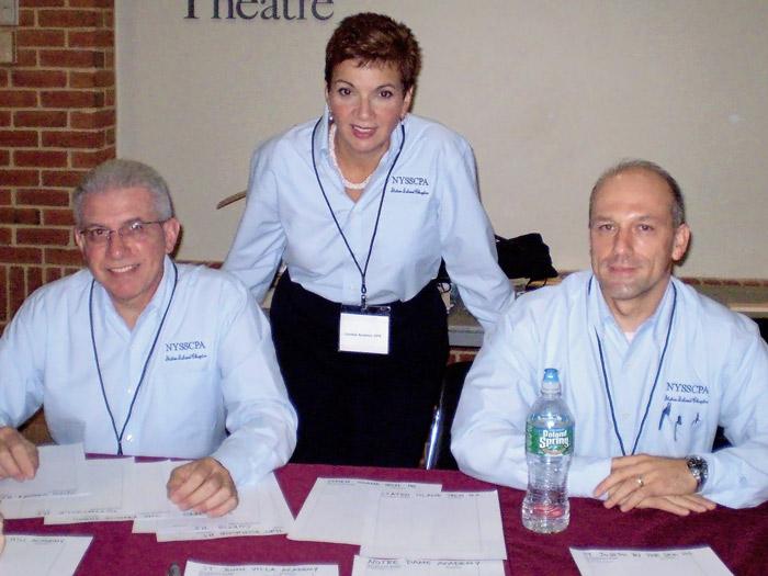 L-R: Anthony Maltese, Cynthia Scarinci, Thomas O'Neil.